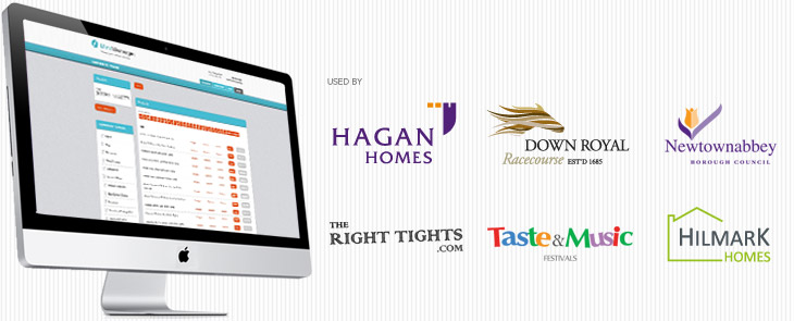 MintManager is used by Hagan Homes, Down Royal, Newtownabbey Borough Council, TheRightTights.co.uk, TasteandMusic.com, HilmarkHomes.com